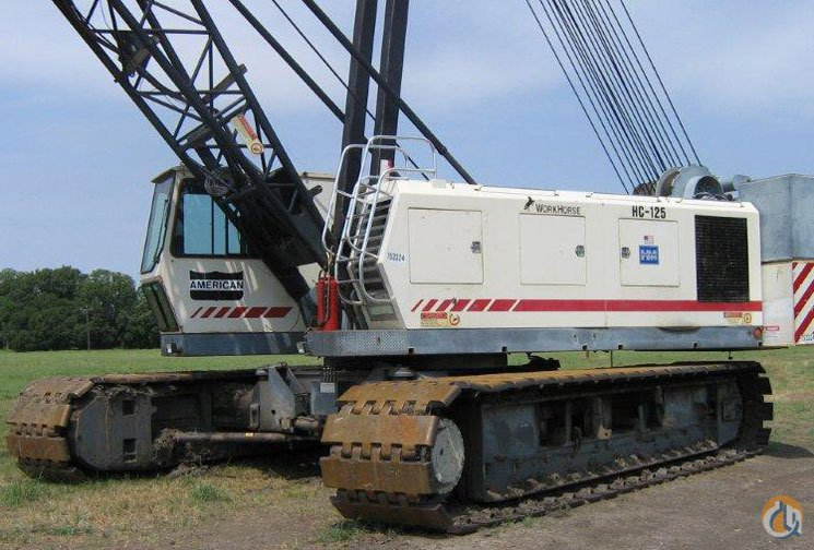HC-125 Hydraulic Lattice Boom Crawler Crane for Sale or Rent in Fort Worth Texas on CraneNetwork.com