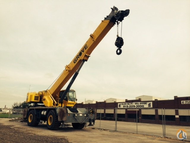2007 GROVE RT650E Crane for Sale in Rockford Illinois on CraneNetworkcom