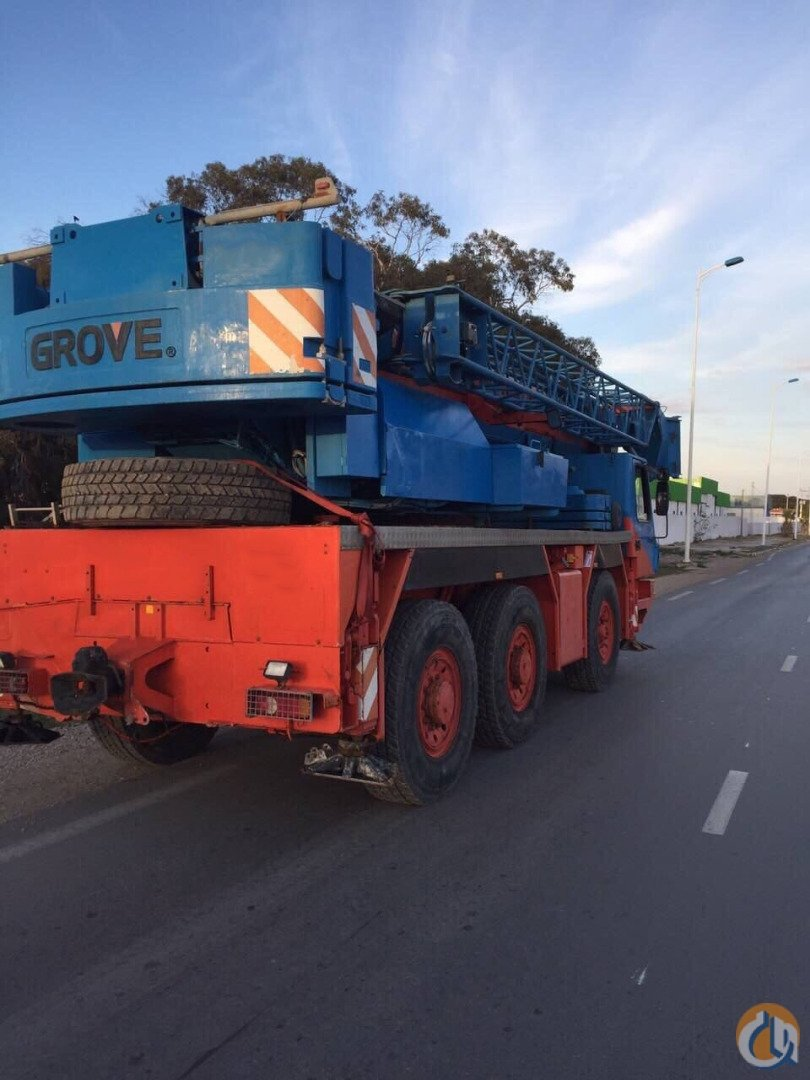 2005 Grove GMK3055 Crane for Sale in Gothenburg Vstra Gtaland County on CraneNetworkcom