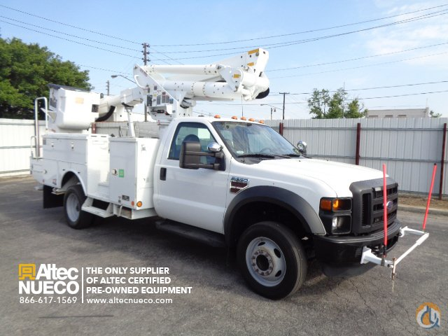 2010 ALTEC TA37M Crane for Sale in Birmingham Alabama on CraneNetworkcom