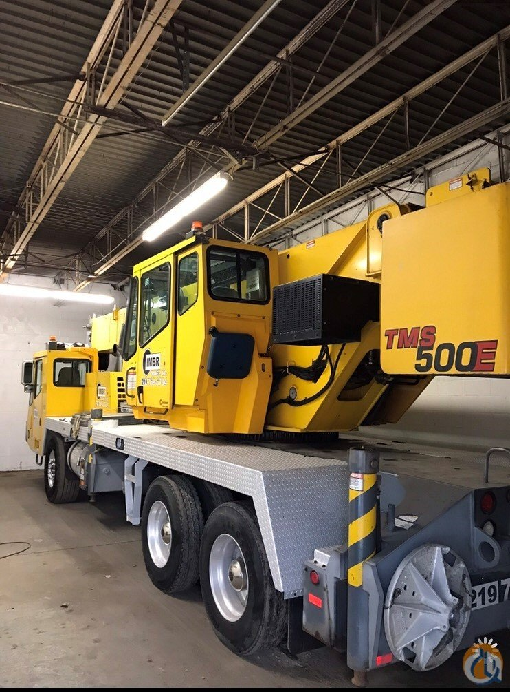 2006 Grove TMS500E Crane for Sale in Palos Hills Illinois on CraneNetwork.com
