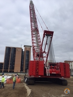 2015 Manitowoc MLC300 Crane for Sale in Cleveland Ohio on CraneNetwork.com
