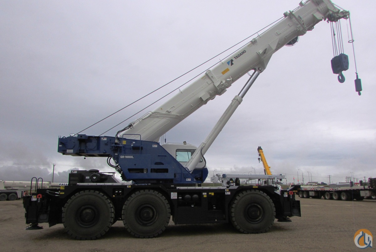 Sold 2014 Used Tadano GR1600XL-2 Crane for in Nisku Alberta on  CraneNetwork.com