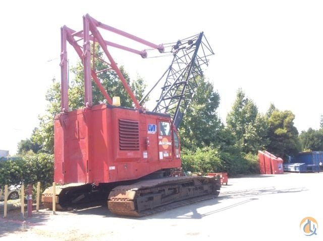 Sold 1975 Manitowoc 3900 Lattice-Boom Crawler Crane Crane for  in Hayward California on CraneNetwork.com