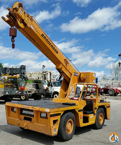 1998 Broderson IC-80-2D Crane for Sale in Houston Texas on CraneNetworkcom