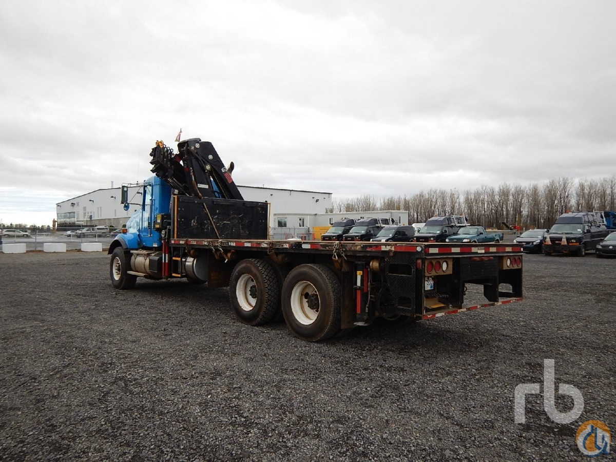 Sold 2011 KENWORTH T800 TA wHiab 288 EP-5 CLX 7 Ton Boom Truck Crane for  in Montreal Qubec on CraneNetworkcom
