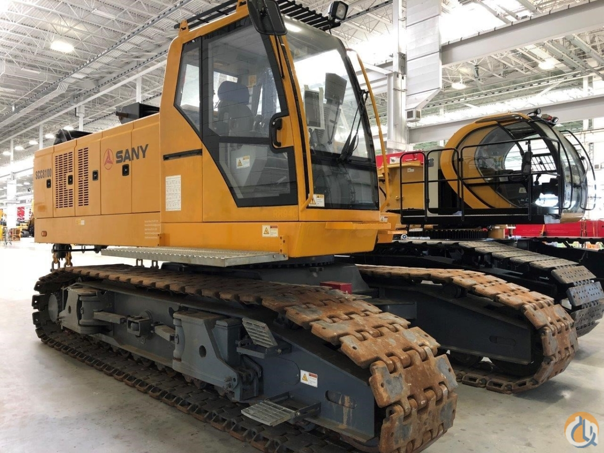 2012 SANY SCC8100 Crane for Sale in North Syracuse New York on CraneNetwork.com