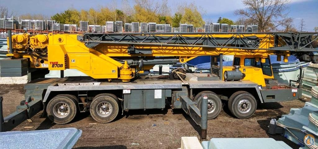 1998 Grove TMS870B Crane for Sale in Oakville Ontario on CraneNetworkcom