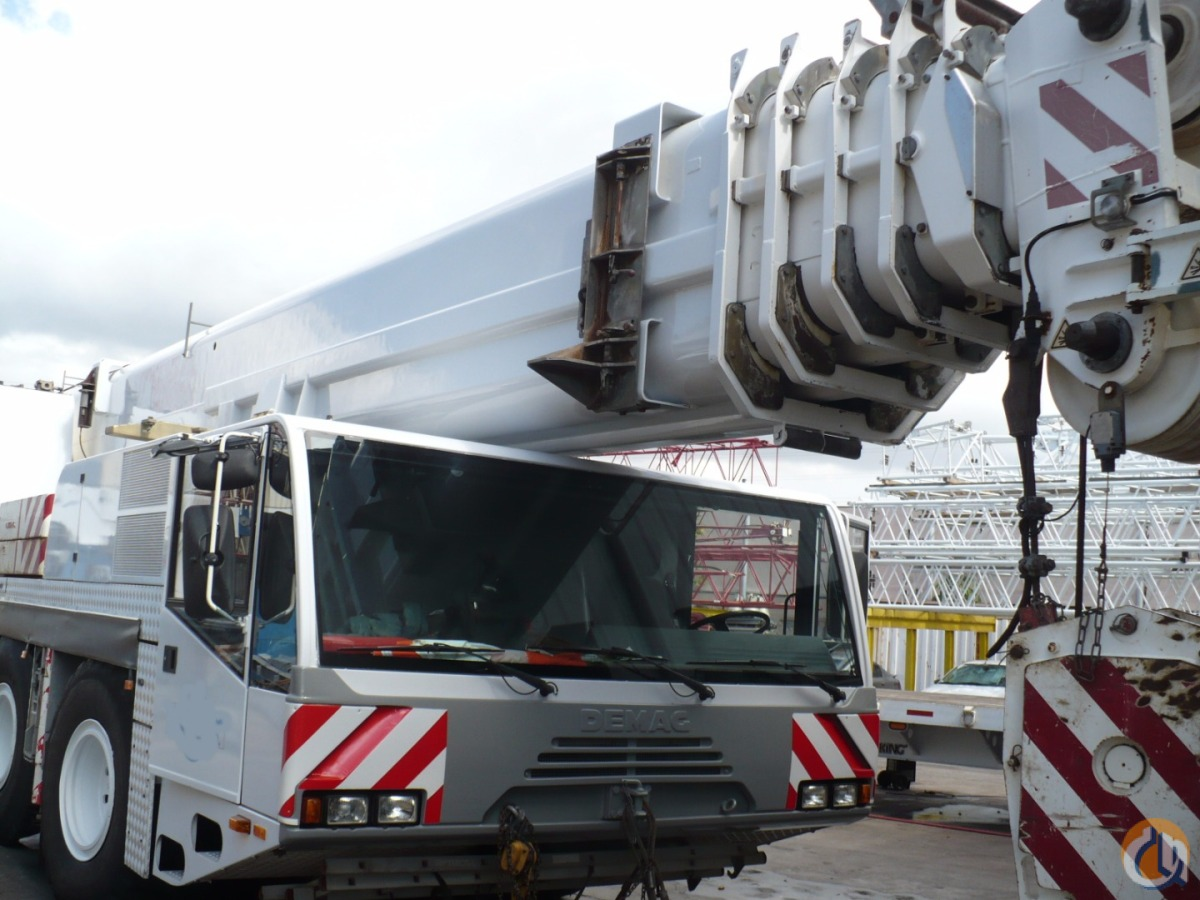DEMAG AC 120 Crane for Sale on CraneNetwork.com