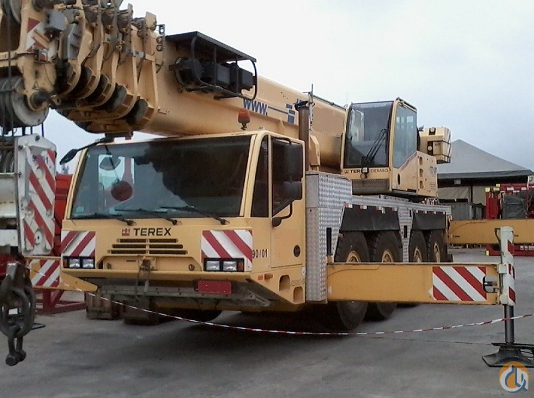 2007 DEMAG AC80-2 EXCELLET CONDITION Crane for Sale in Houston Texas on CraneNetwork.com