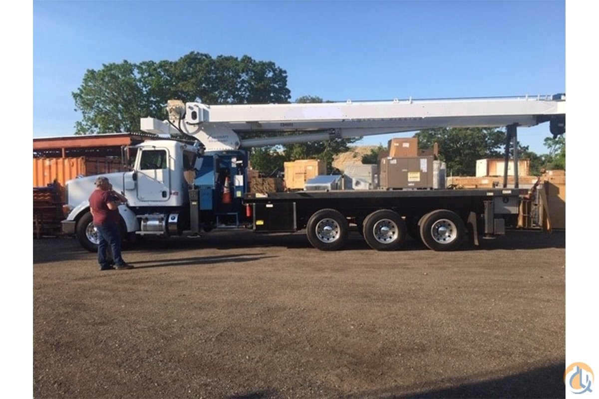 Used Manitex 35124C boom installed on 2012 Peterbilt 367 chassis Crane for Sale in Hampton New Jersey on CraneNetwork.com
