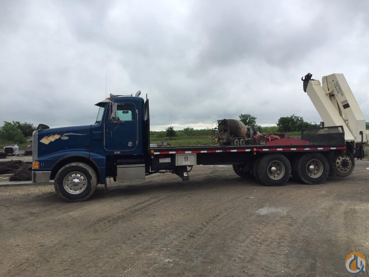 2003  1996 National N2055058 on Big Power Peterbilt Crane for Sale on CraneNetwork.com