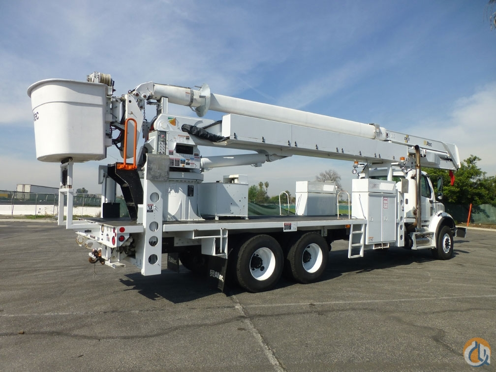 2009 Freightliner M2 112 Altec HL125 130 Bucket Truck Crane for Sale in Norwalk California on CraneNetworkcom