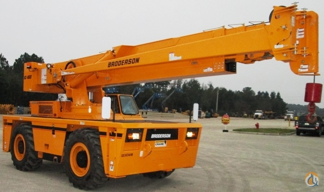 2014 BRODERSON IC400-3A 13397400 Crane for Sale in St Augustine Florida on CraneNetworkcom