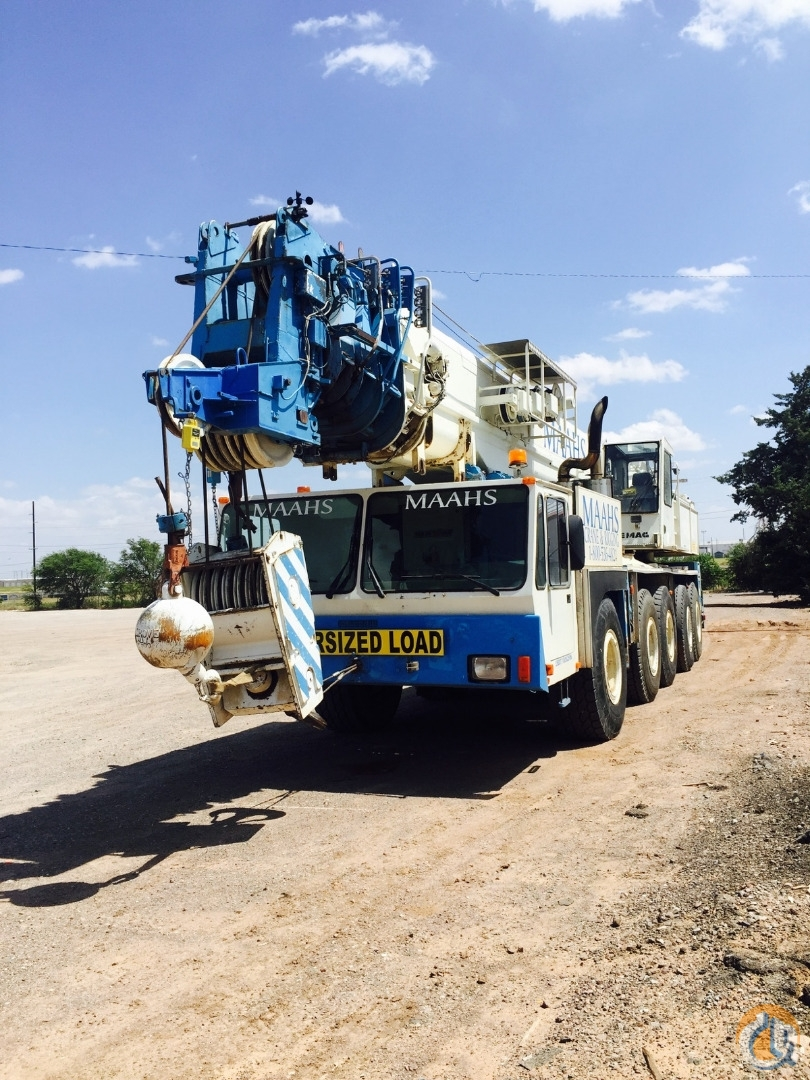 1998 Demag AC435 Crane for Sale in Altus Oklahoma on CraneNetwork.com