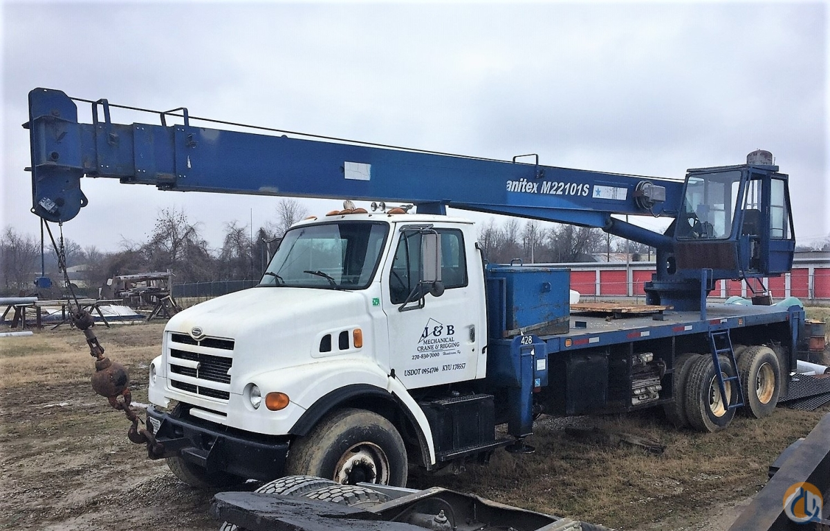 Sold 1999 Manitex M22101S Crane for  in Henderson Kentucky on CraneNetwork.com