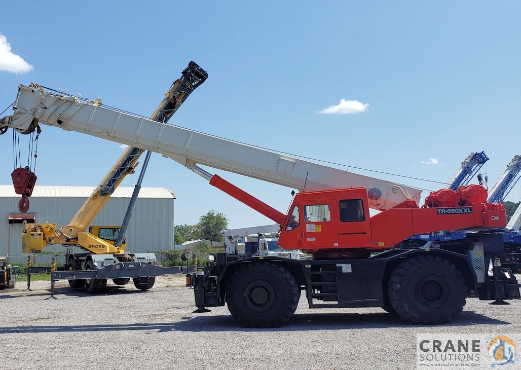 2000 Tadano TR650XXL Crane for Sale in Savannah Georgia on CraneNetwork.com