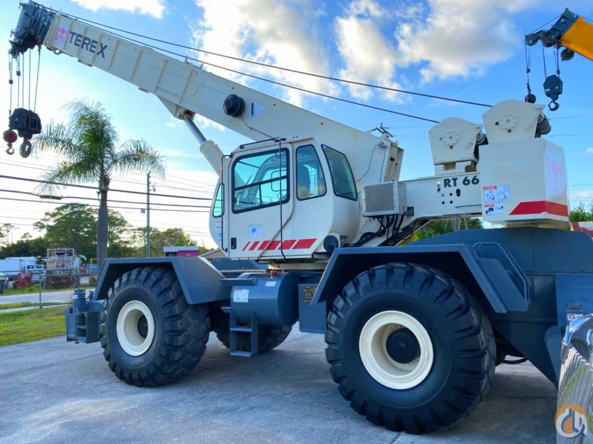 2007 TEREX RT665 65 TON RT LOCATION SOUTH FLORIDA Crane for Sale in Port St. Lucie Florida on CraneNetwork.com
