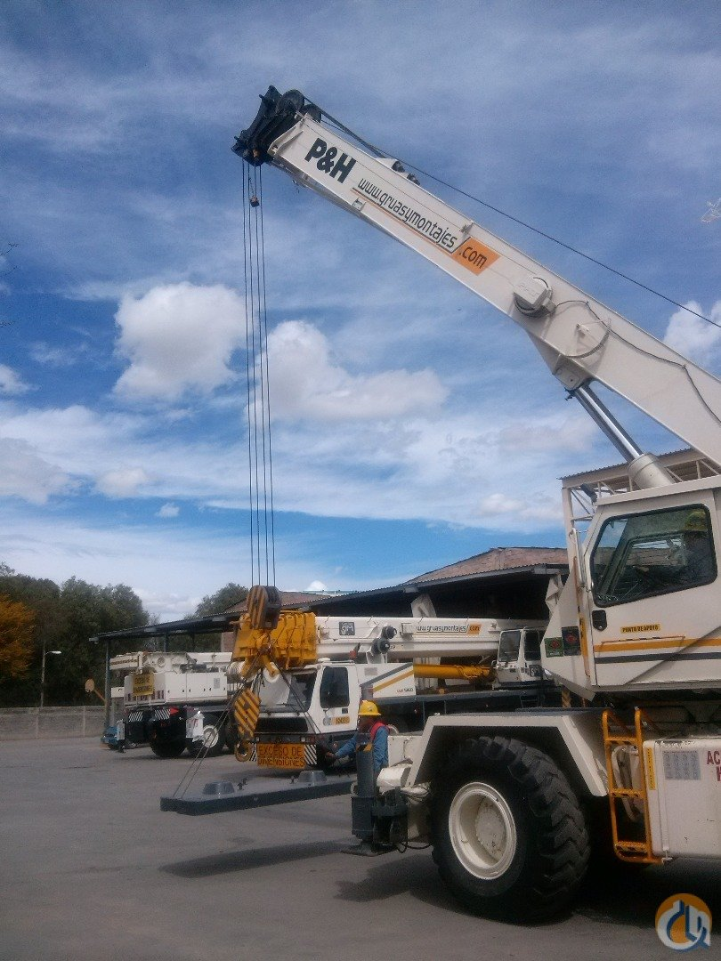 1987 PH CN 122 ROUGH TERRAIN CRANE Crane for Sale on CraneNetwork.com