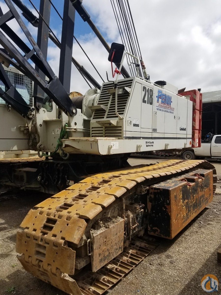 2012 Link-Belt 218 HSL Crawler Crane for Sale in Indiana Pennsylvania on CraneNetwork.com
