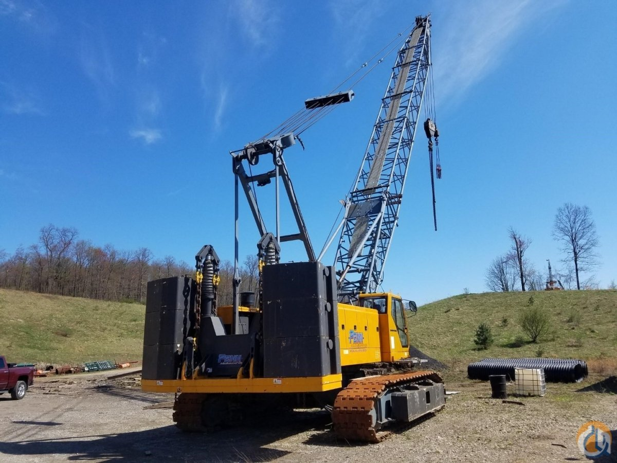 2012 SANY SCC8100 Crawler Crane for Sale in Indiana Pennsylvania on CraneNetwork.com