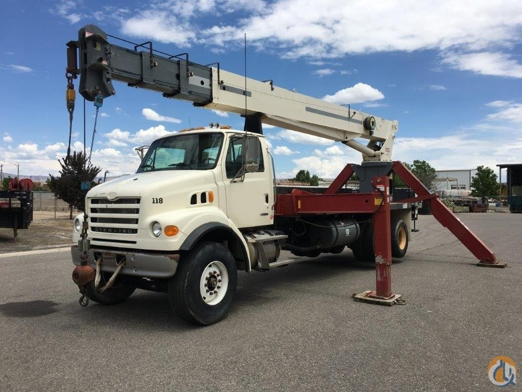 Low MilesHours 2006 Terex 4792 Rear Mount Crane for Sale on CraneNetwork.com