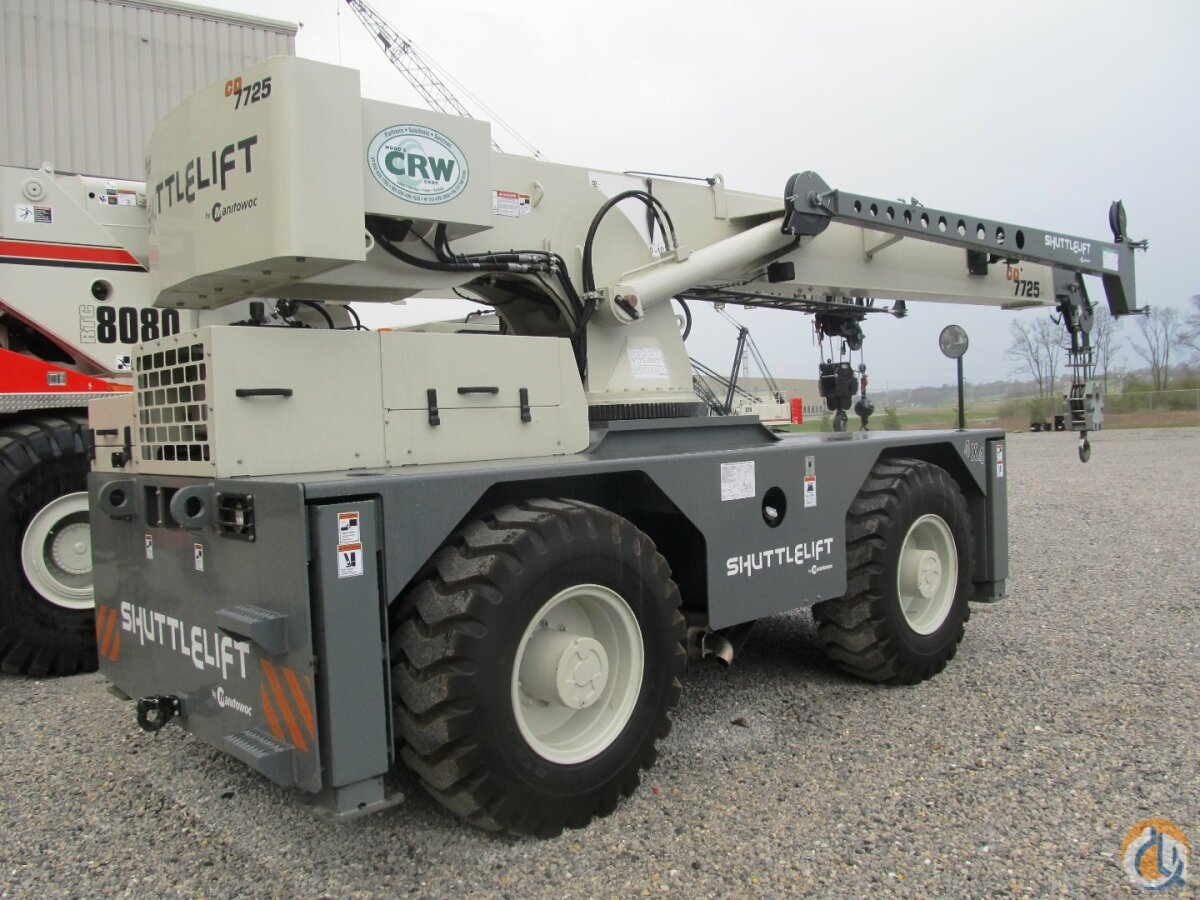 2016 Shuttlelift CD7725 Crane for Sale in Carlisle Pennsylvania on CraneNetworkcom