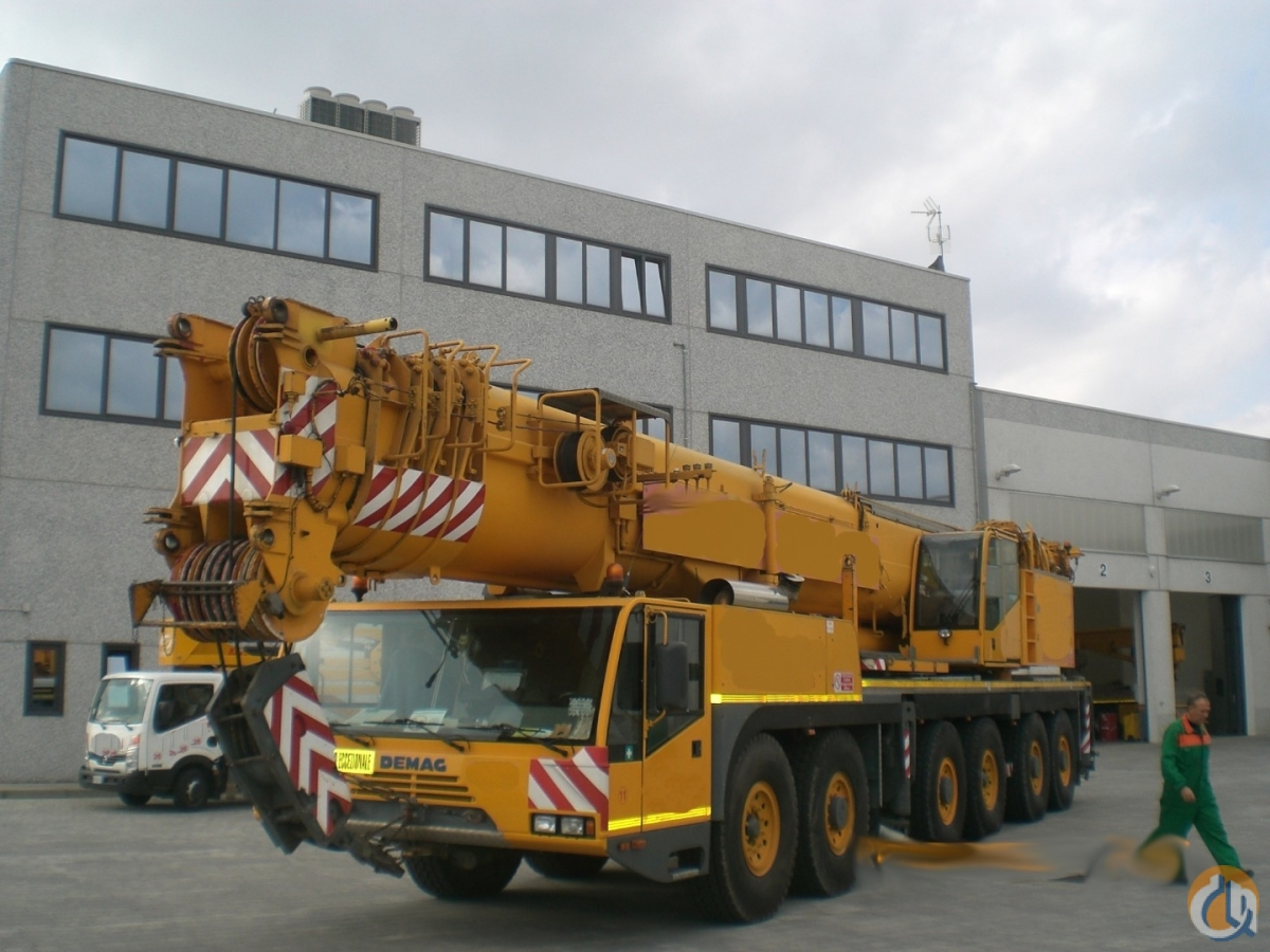 Sold 2000 DEMAG AC 300 SL Crane for  in Cortemaggiore Emilia-Romagna on CraneNetwork.com