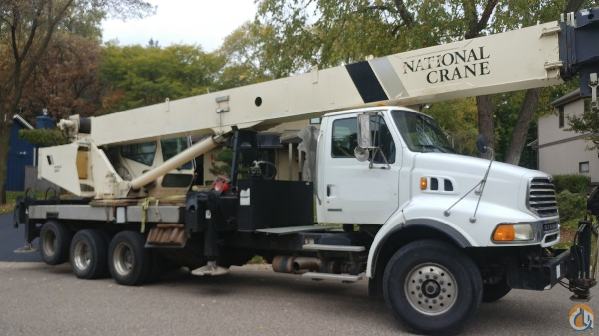 National Crane 40 ton with 142 main Big Power Diesel Crane for Sale on CraneNetwork.com