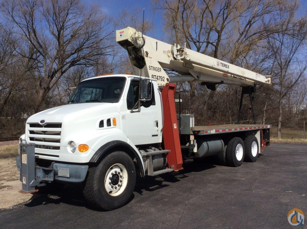 Terex 4792 Work Ready with Roofers Pkg Crane for Sale on CraneNetwork.com