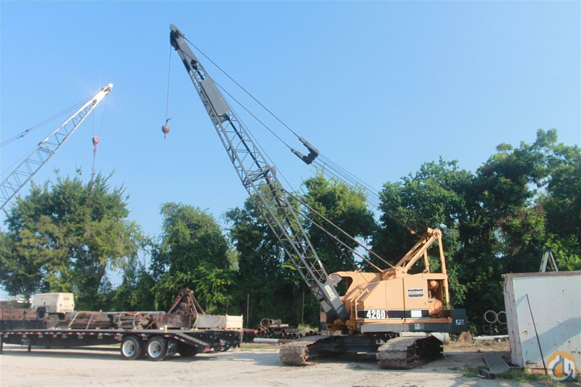 Sold AMERICAN 4260 45 TON CAP CRANE Crane for in Houston Texas on ...