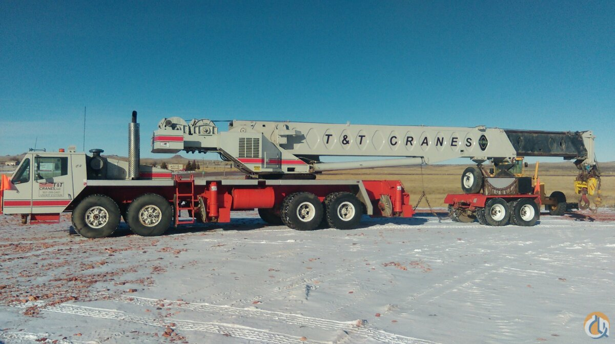 1989 Linkbelt HTC 11100 Crane for Sale in Gillette Wyoming on CraneNetworkcom