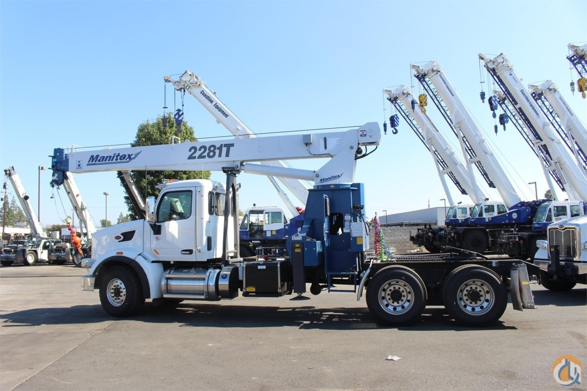 2019 MANITEX 2281T Crane for Sale or Rent in Sacramento California on CraneNetwork.com