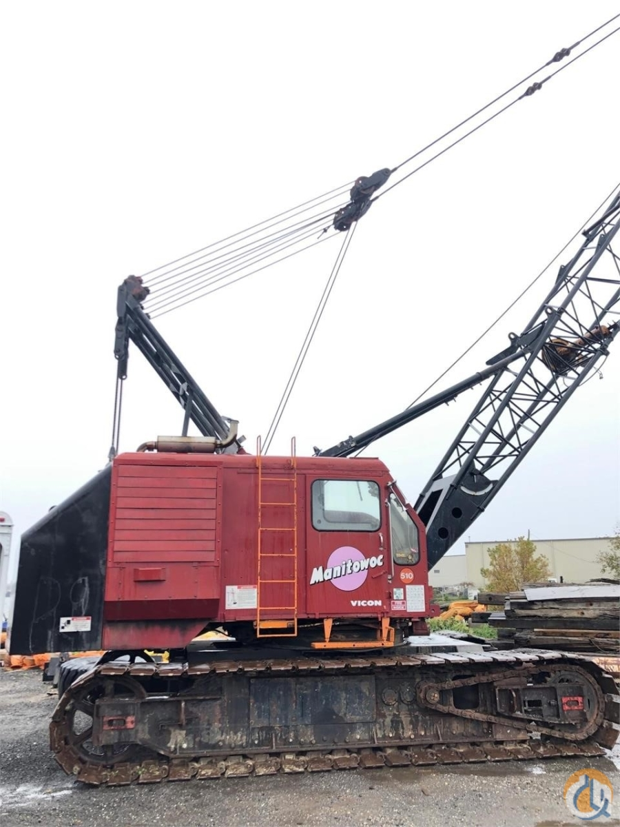 1967 MANITOWOC 2900WC Crane for Sale in Holbrook Massachusetts on CraneNetwork.com