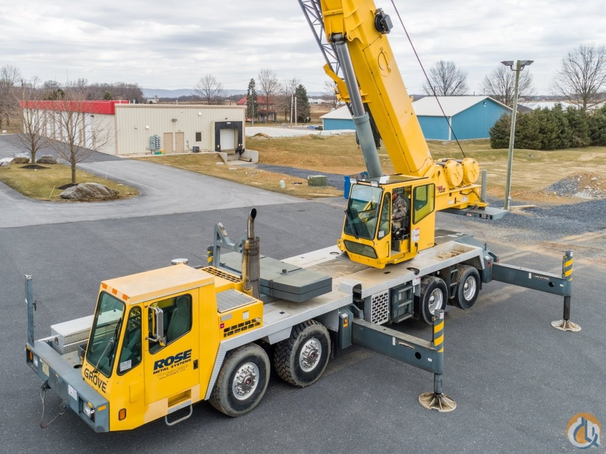 Sold 2003 Grove TMS700E Crane for  in Carlisle Pennsylvania on CraneNetwork.com