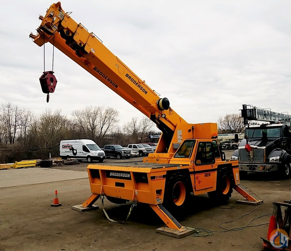 2015 Broderson Diesel IC-200-3H Crane for Sale in Oakville Ontario on CraneNetwork.com