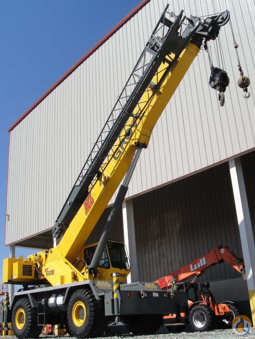 2007 Grove RT650E For Sale Crane for Sale in Toledo Ohio on CraneNetwork.com