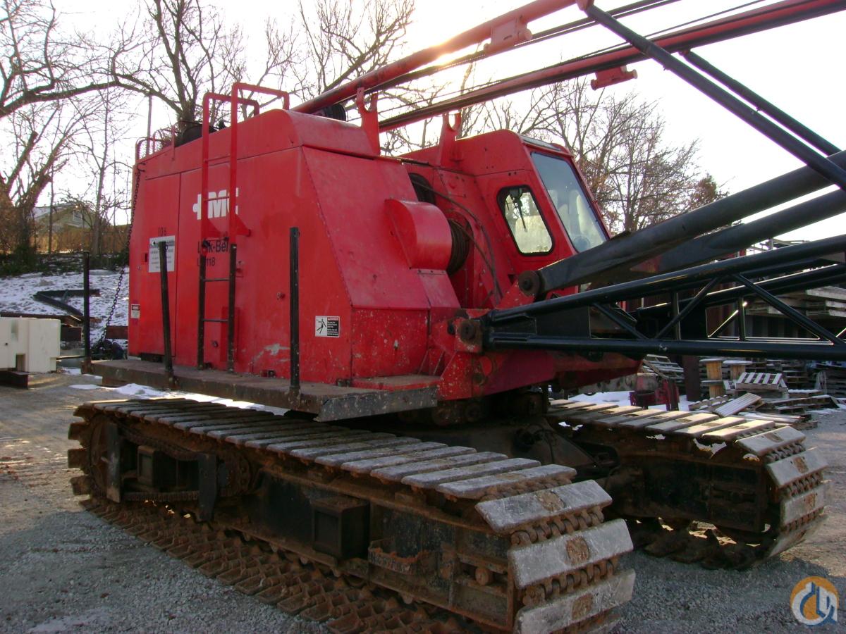 Link Belt Crawler Cranes : Sold link belt ls ton crawler crane for in kansas