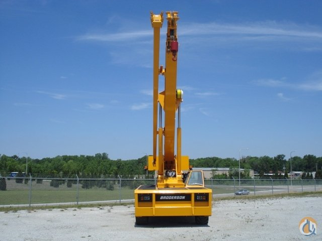 2017 BRODERSON IC-250-3E CARRY DECK CRANE Crane for Sale on CraneNetwork.com