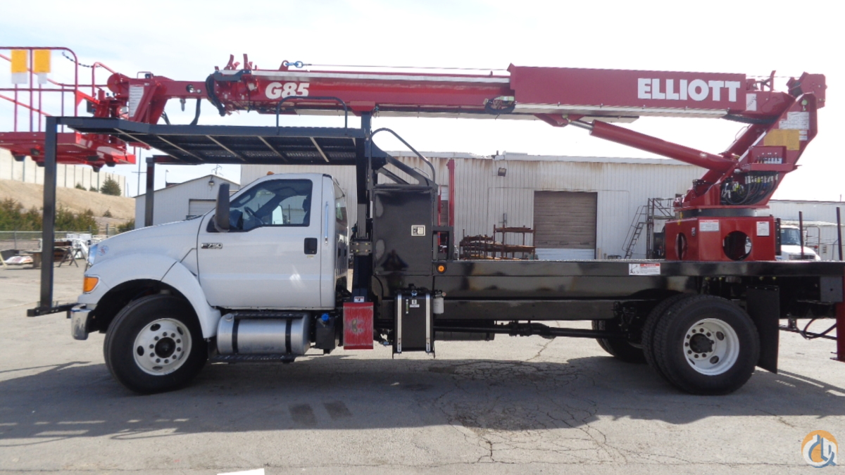 New 2016 Elliott G85R Sign Truck For Sale Crane for Sale in Pflugerville Texas on CraneNetworkcom