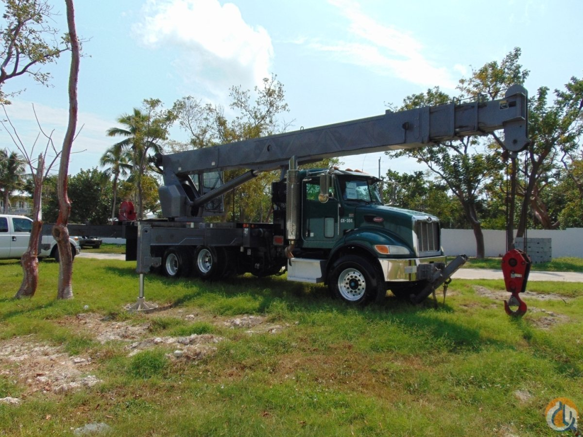 2009 PETERBILT  ALTEC AC38-103S Crane for Sale in Fort Lauderdale Florida on CraneNetwork.com