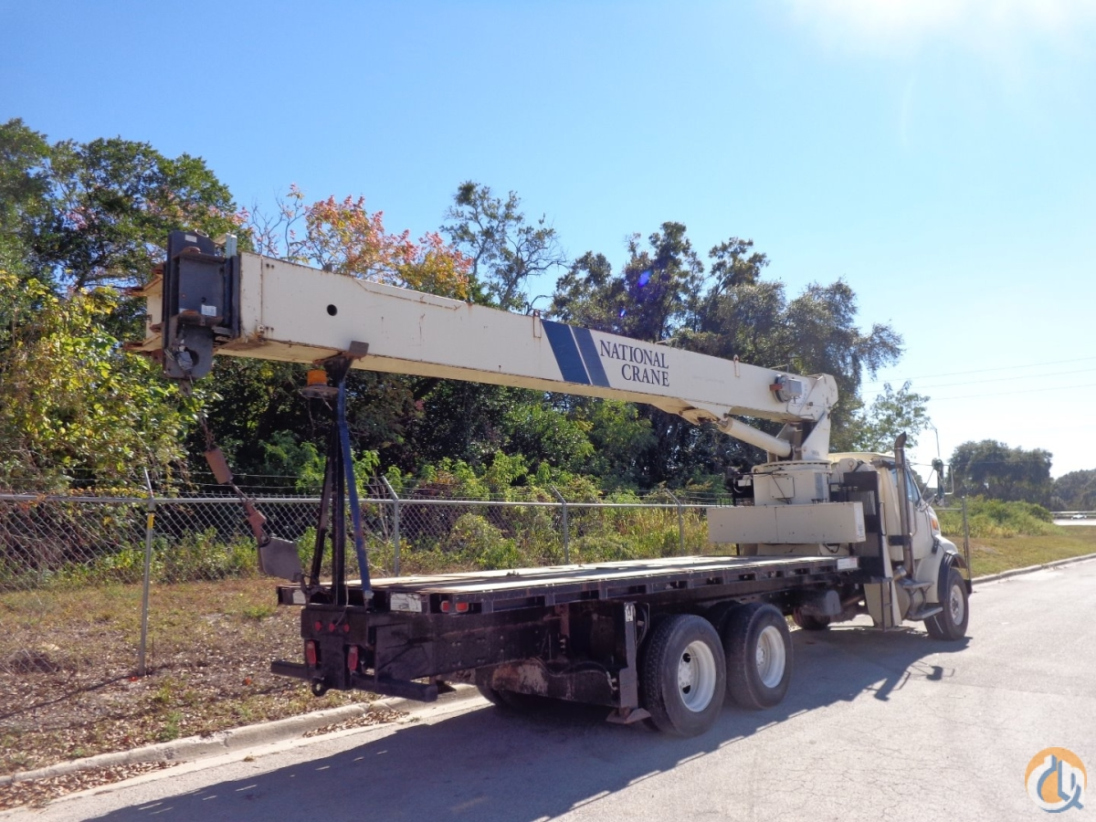 2006 NATIONAL 9103 CRANE ON 2006 STERLING LT-8513 Crane for Sale in Tampa Florida on CraneNetworkcom