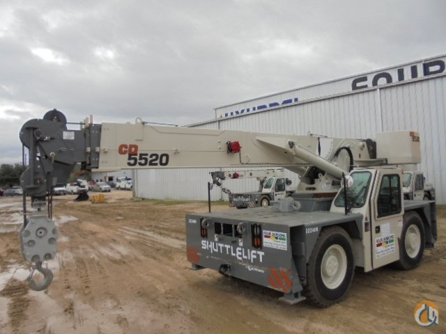 2016 Shuttlelift CD5520 Crane for Sale in Houston Texas on CraneNetwork.com