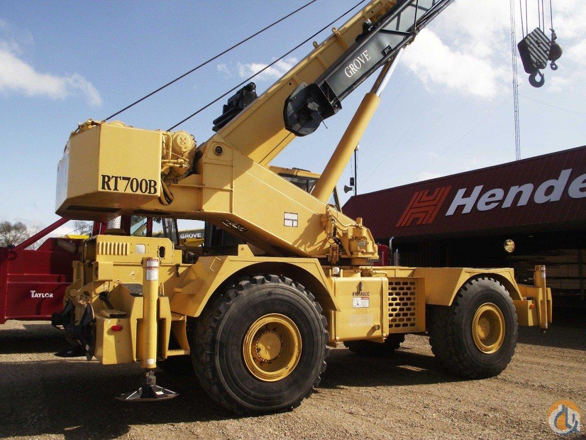 Mobile Crane Operator Sample Questions : Load chart for grove tms e crane