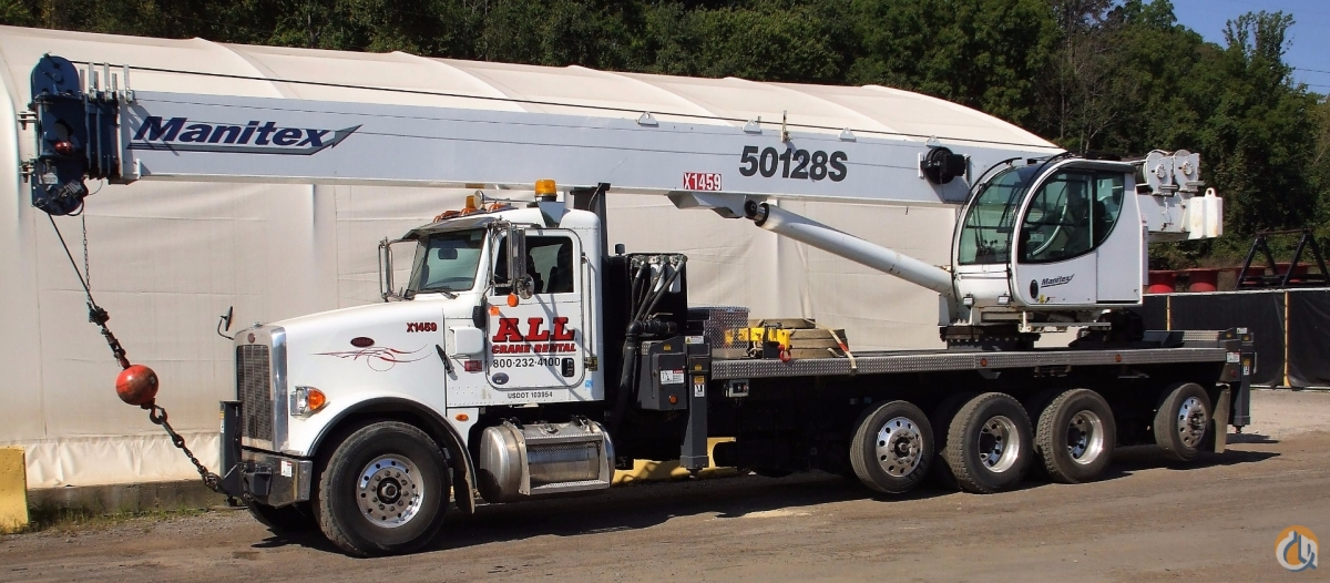 2014 MANITEX 50128S Crane for Sale in Cleveland Ohio on CraneNetworkcom