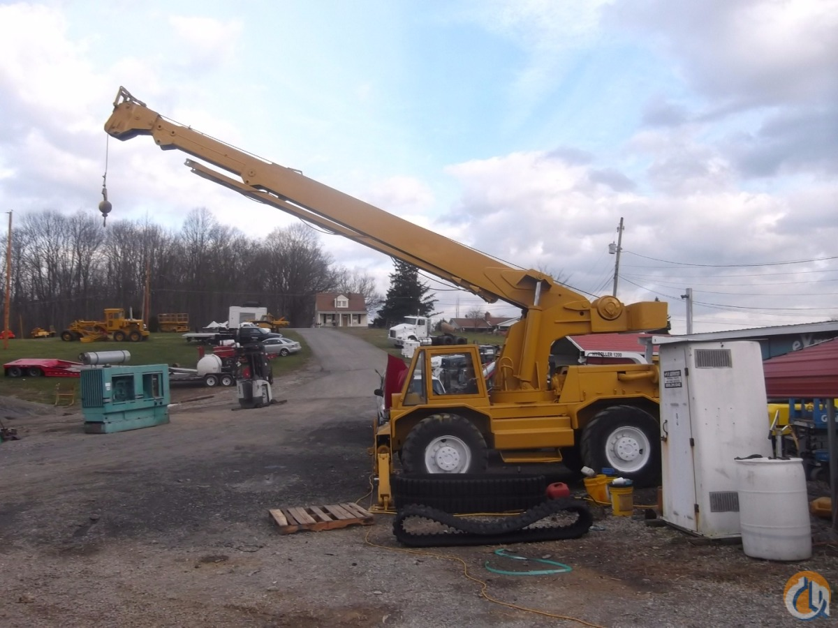 Sold 1980 BUCYRUS-ERIE HY-DYNAMIC 250 Crane for  in Pembroke Virginia on CraneNetwork.com