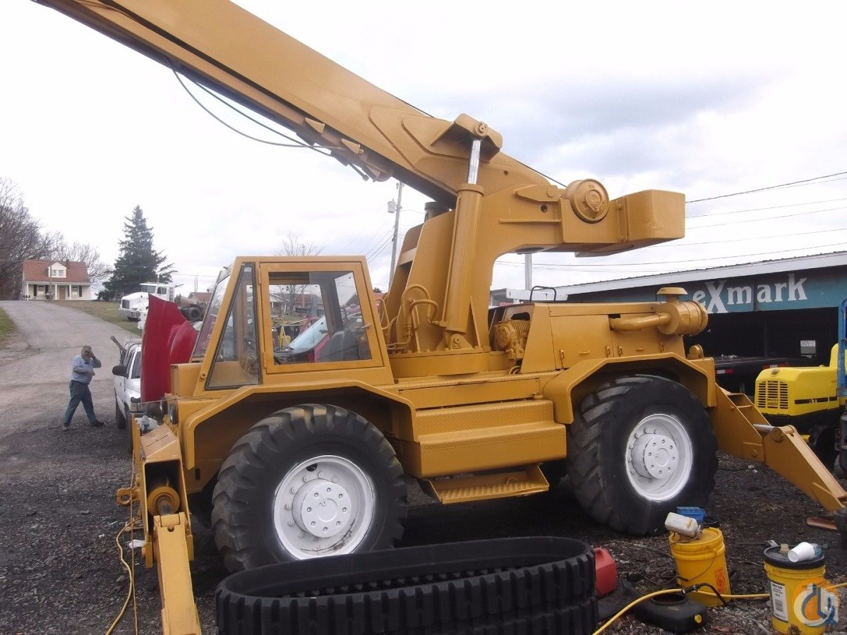 Sold 1980 Bucyrus Erie Hy Dynamic 250 Crane For In
