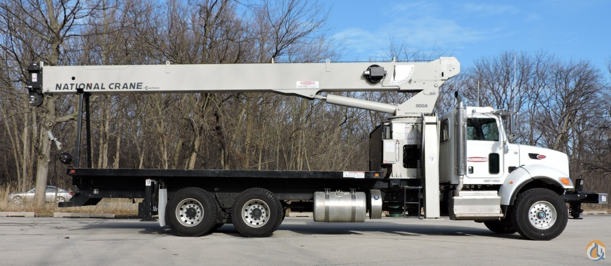 National Crane 9103A on 2015 Peterbilt 348 Crane for Sale in Lyons Illinois on CraneNetwork.com