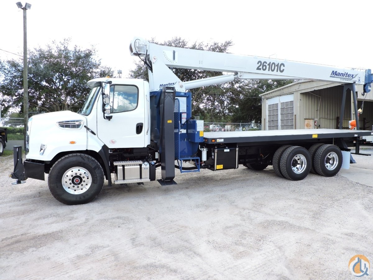 New Manitex 26101C on a 2020 Freightliner 108SD Crane for Sale in Tampa Florida on CraneNetwork.com