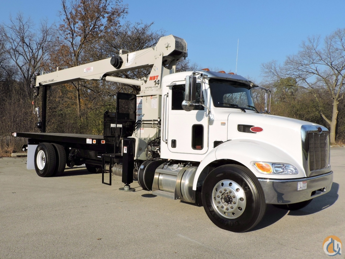 Sold National Crane NBT14 Radio Remotes Peterbilt 337 Crane for  in Lyons Illinois on CraneNetworkcom